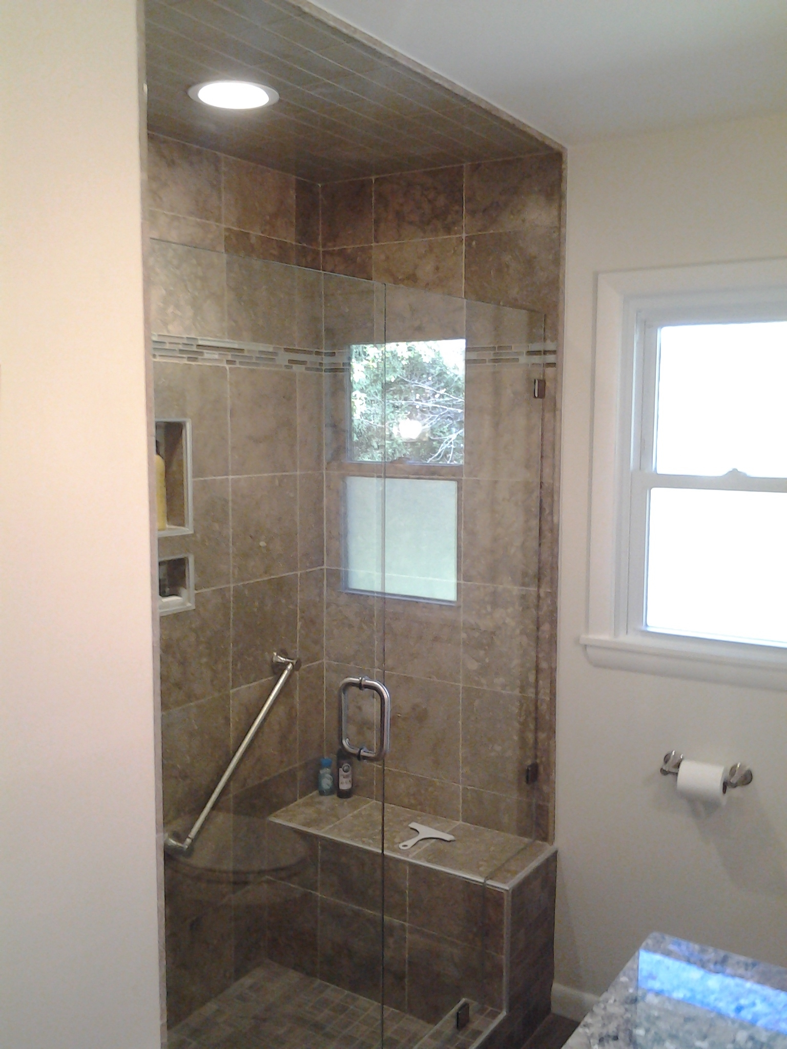 Bathroom Remodel - Custom Tile Shower