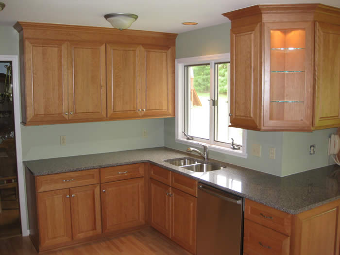 Kitchen Remodel - Cherry Cabinets