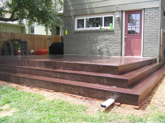 Trex Deck Addition