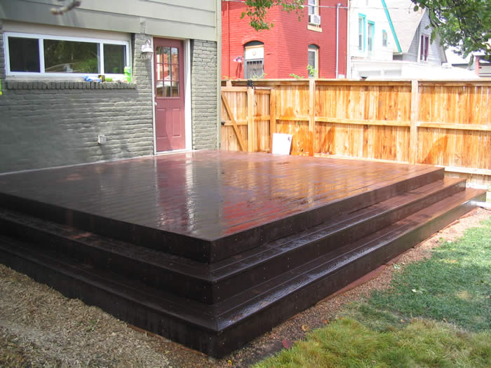 Trex Deck Addition