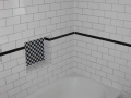 Bathroom Remodel - Tile Shower with niche